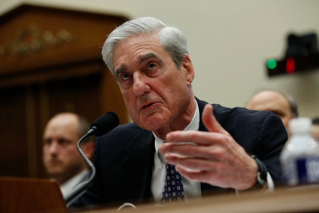 Former Trump-Russia special counsel Robert Mueller gives testimony before the United States House Permanent Select Committee on Intelligence on the results of his investigation