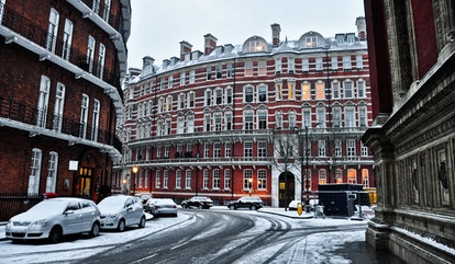 London is a perfect place to go for a winter getaway.