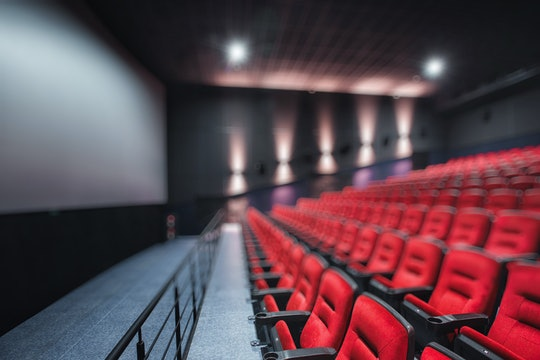 Experts say you might want to leave baby at home while you're experiencing a loud movie at the movie...