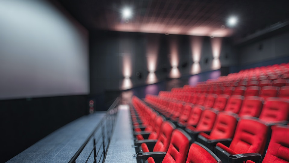 Experts say you might want to leave baby at home while you're experiencing a loud movie at the movie theater.