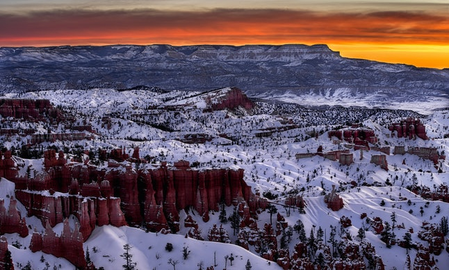 Bryce Canyon National Park is a perfect destination for a winter getaway.