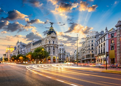 Madrid in December is beautiful and cheap, according to Google travel trends.