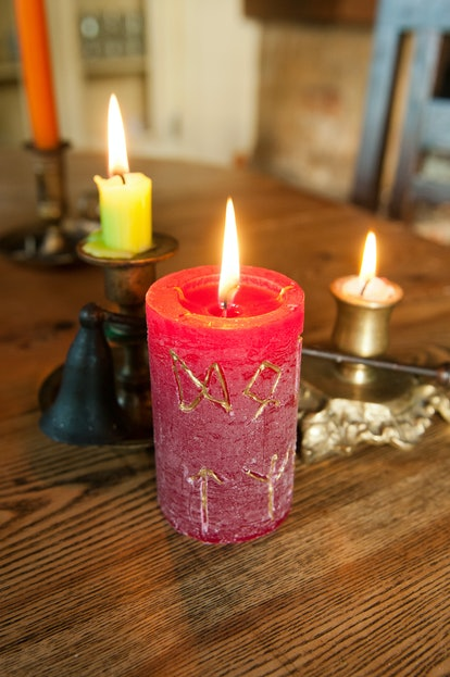 Use a candle ritual for protection during Mercury retrograde fall 2019.