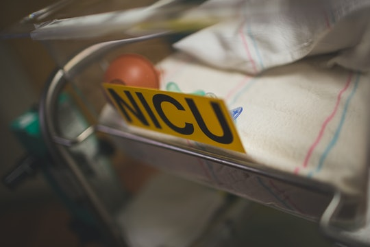 NICU Bassinet in Hospital for Newborn