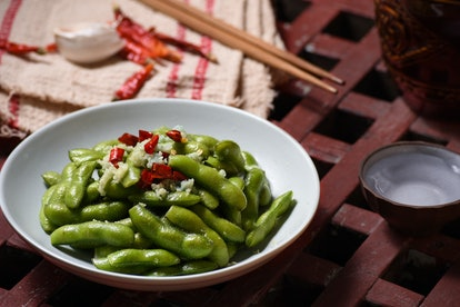Soy products like edamame are a risk for people who have been diagnosed with ER-positive breast cancers.