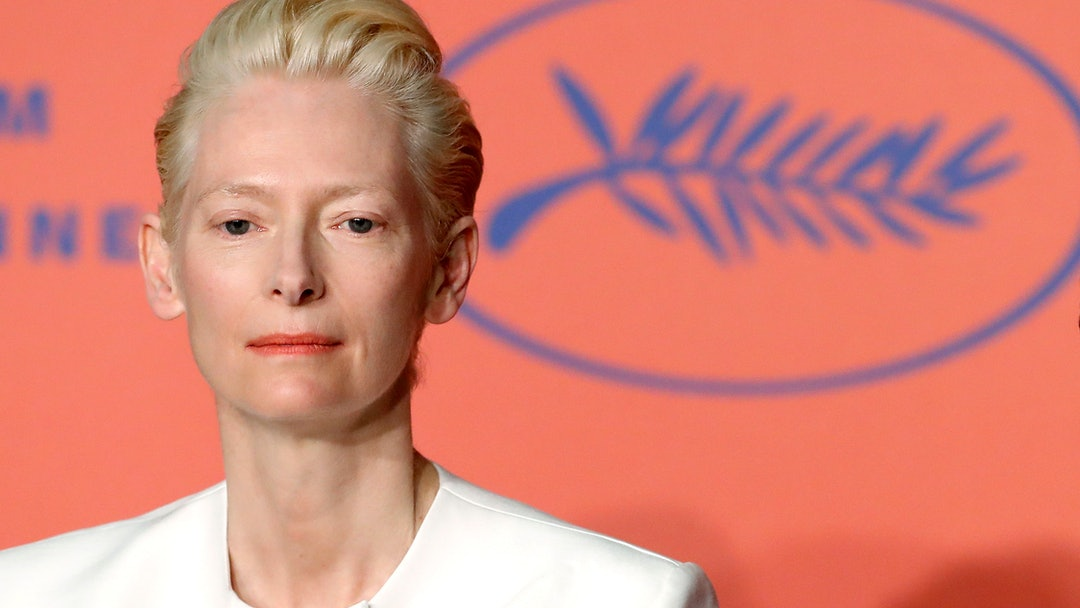 Tilda Swinton attends the press conference for 'The Dead Don't Die' during the 72nd annual Cannes Film Festival, in Cannes, France, 15 May 2019. The movie is presented in the Official Competition of the festival which runs from 14 to 25 May.