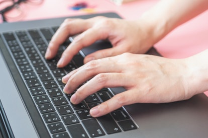 Experts say you can clean your keyboard by gently spraying away debris and then using alcohol to disinfect keys.