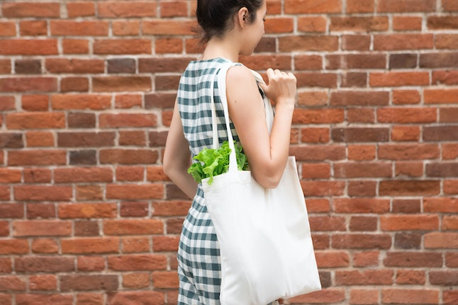 Experts recommend using different reusable shopping bags for different activities.