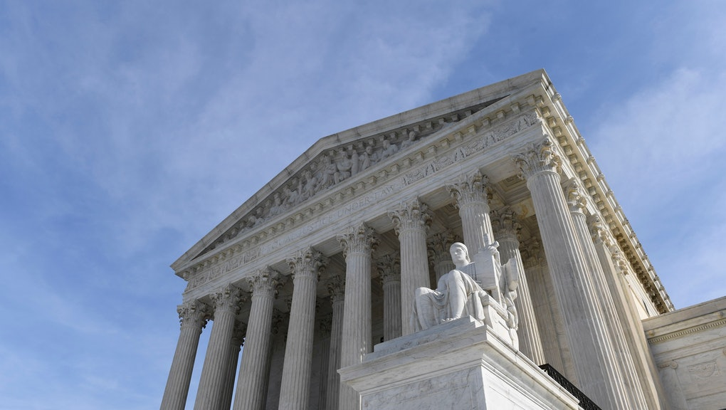 A view of the Supreme Court in Washington, . Protections for 660,000 immigrants are on the line at the Supreme Court