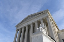 A view of the Supreme Court in Washington, . Protections for 660,000 immigrants are on the line at t...