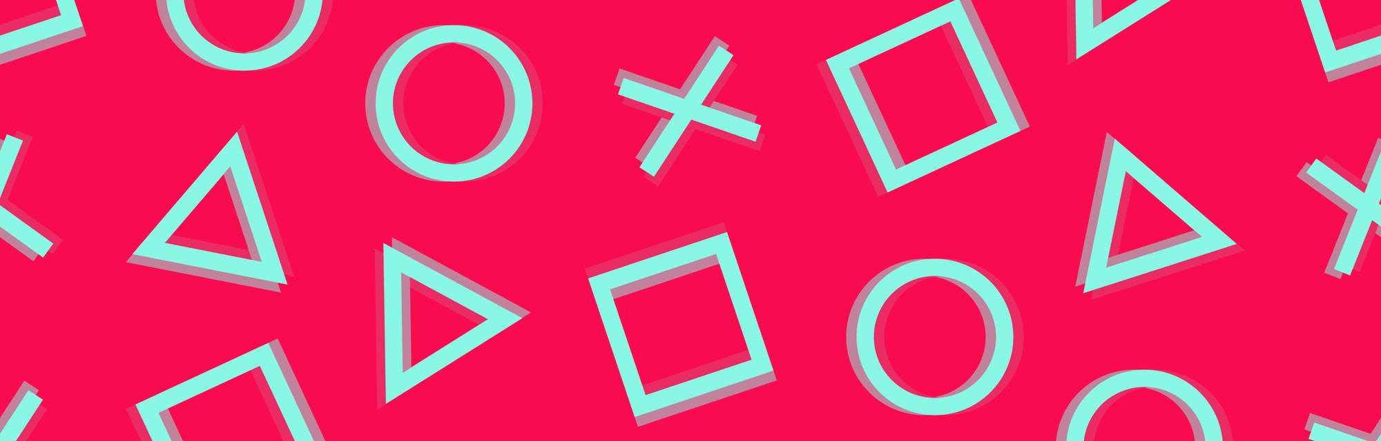 pattern cross triangle square circle design game play station 4 symbols icons playstation 5