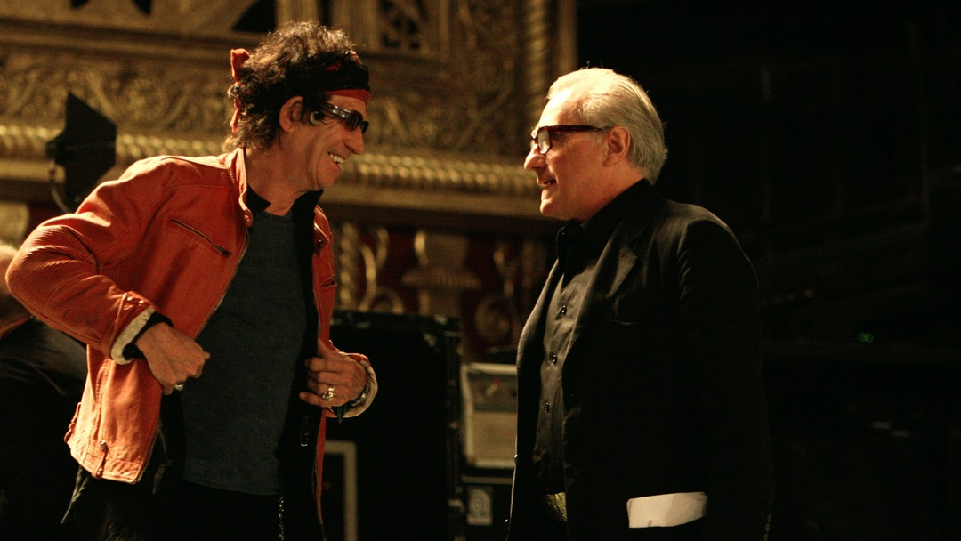 Keith Richards, Martin Scorsese, The Rolling Stones