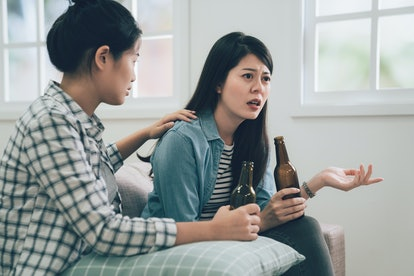 If you catch your friend's partner cheating and decide to tell them, be prepared for some backlash.