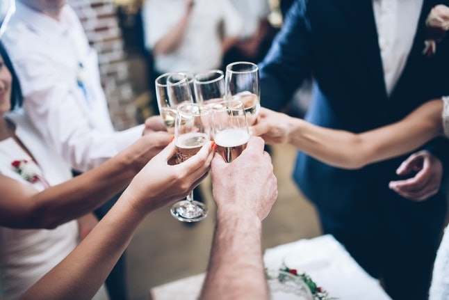 Don't forget a wedding speech should also be a toast.