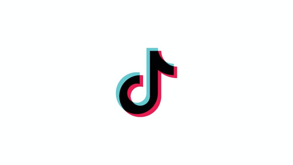 Tiktok logo, tik tok logo, icon. Music, sound, equalizer icon design. Social media