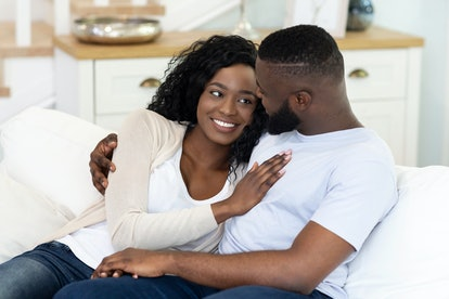Small rituals of connection like kissing before going to bed can keep your connection strong during ...