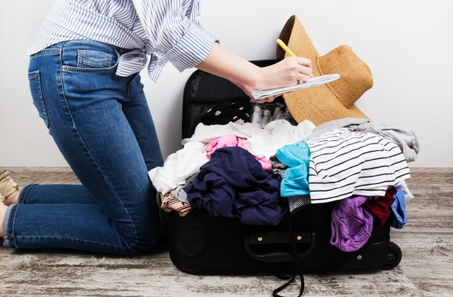 Don't wait until the last minute to pack, you will forget something.