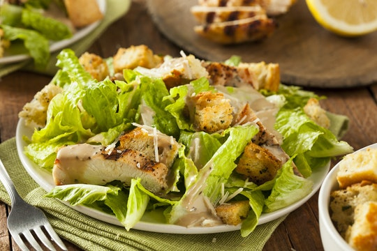 Pre-made chicken caesar salads linked to possible E. coli outbreak.