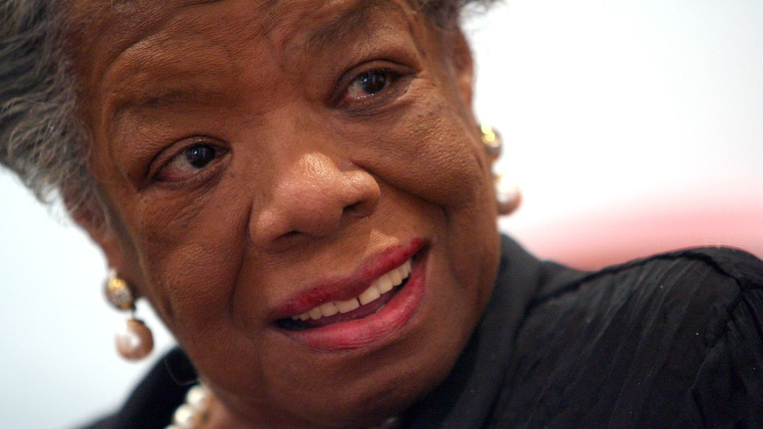 Maya Angelou American poet and noevlist Maya Angelou smiles during an interview with The Associated Press in New York. Angelou has died, Wake Forest University said . She was 86
