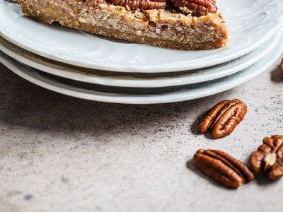 Crock-pot Pecan Pie for thanksgiving dinner