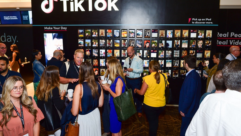 TikTok Video Wall activation
