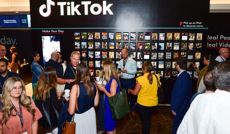 TikTok Video Wall activation