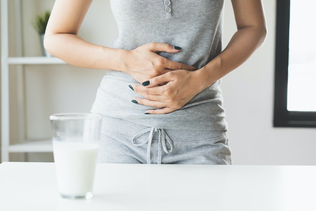Symptoms of lactose intolerance can quickly disappear when a person gives up dairy