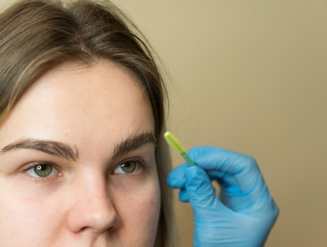 Brow lamination is the pain-free grooming alternative to microblading