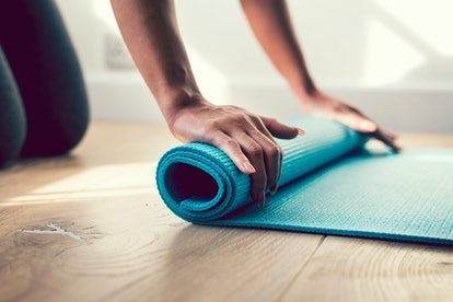 The stretches and breathing in yoga can tap into buried emotions, which can lead to a release during your practice.