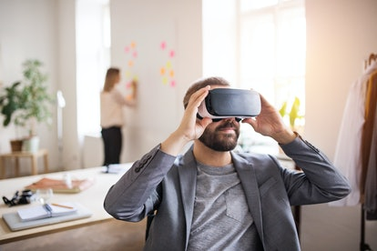 VR goggles are one way digisexuals may express their sexuality.