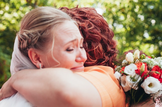 Weddings are emotional days for all involved.