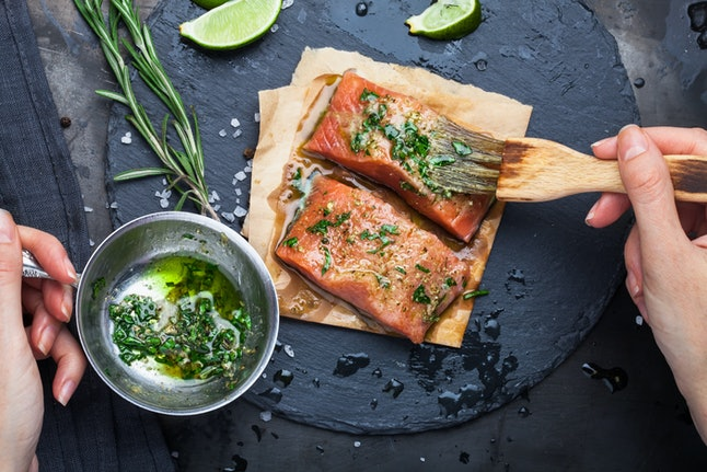 If you're going to become pescatarian, opt for fatty fish like salmon or mackerel.