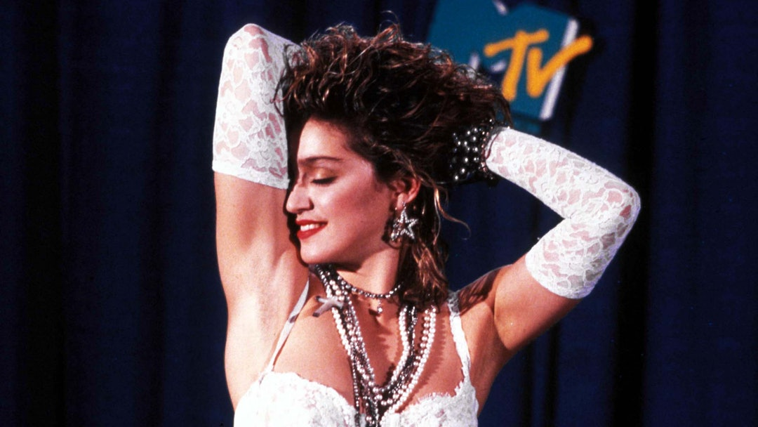 Madonna at 1984 Mtv Video Music Awards