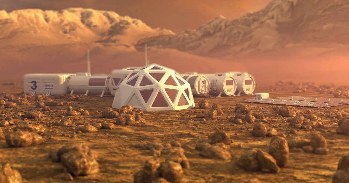 Elon Musk's Mars colonization plan requires 1,000 rockets and 20 years