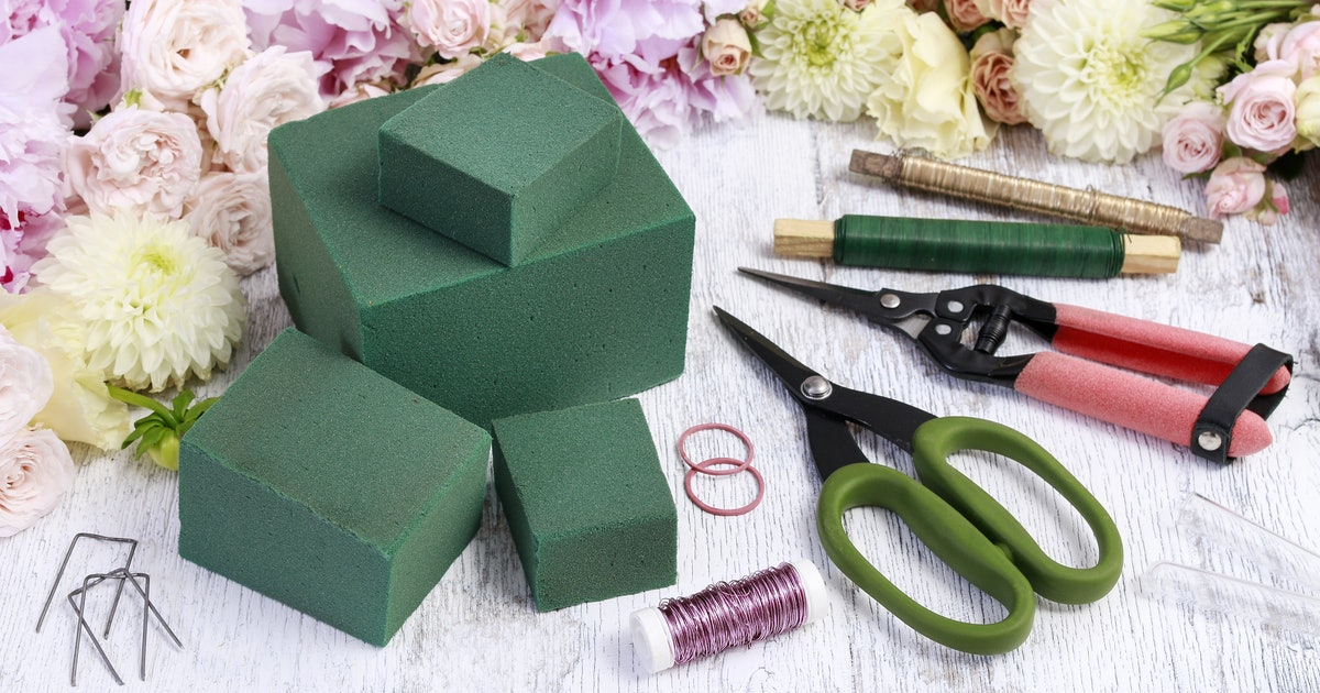 Floral foam contributes to microplastic pollution, scientists find