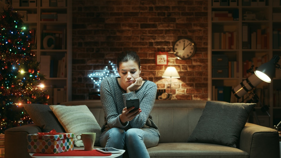 Holiday breakup stories that involve splitting over text are especially brutal.