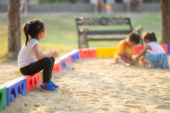 Experts say you can help your child socialize by roleplaying with them and teaching them confidence.