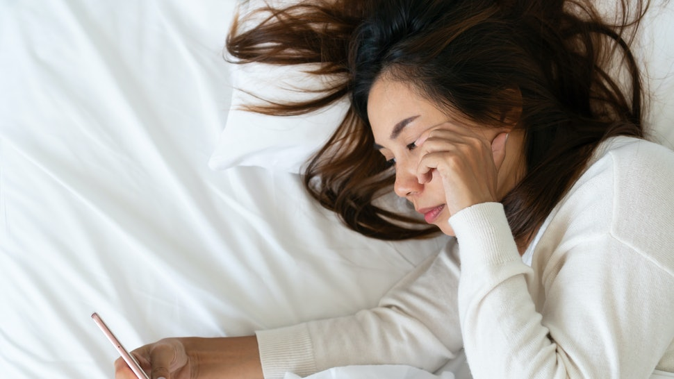 Going to bed and waking up at the same time every day can make it easier to fall into a routine.