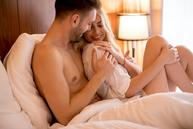 Talking about what works and doesn't in the bedroom can help you have more satisfying sex in the new year.