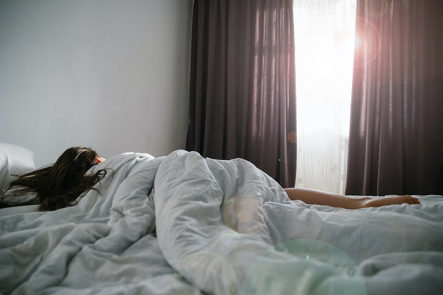 Humans are hardwired to react to sunlight and wake up.