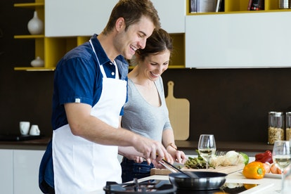 Cooking with your partner can help you get closer throughout the week.