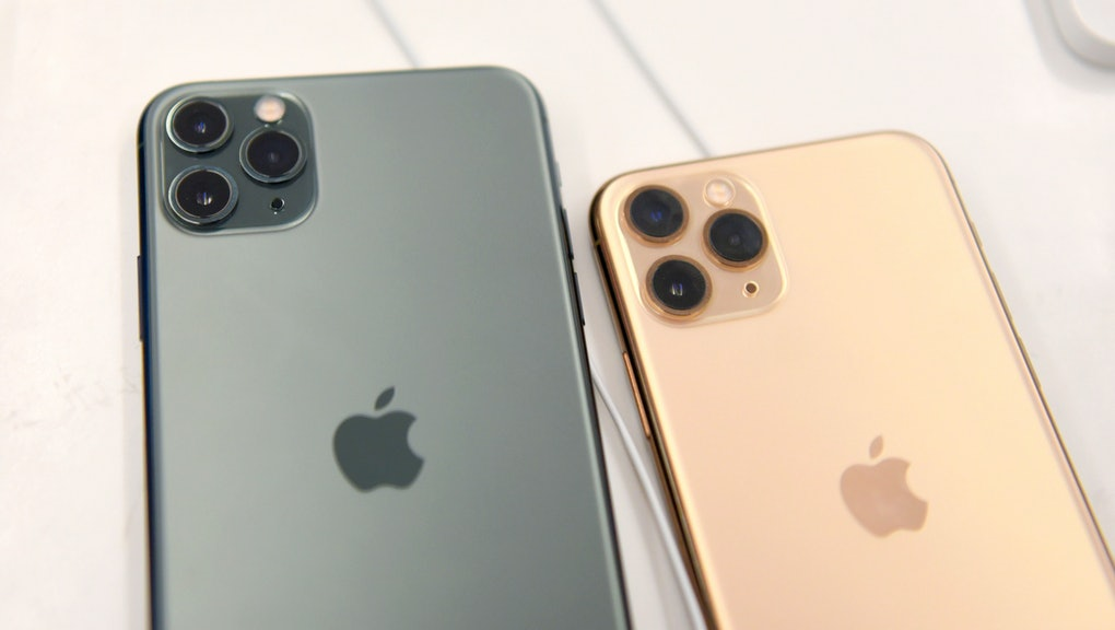 Apple iPhone11 is seen on display at South City Mall.
