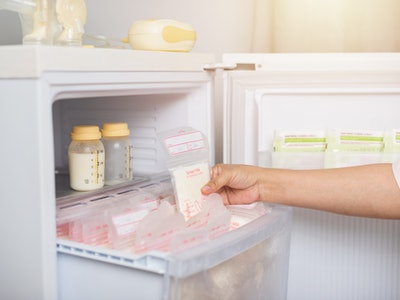 Storing breast milk properly can help prevent breast milk from getting freezer burn.
