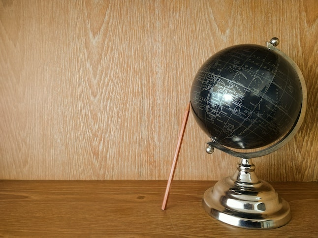 One reader said their favorite gift was a decorative globe.