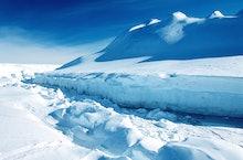 Antarctica, Weddell Sea, Riiser Larsen Ice Shelf