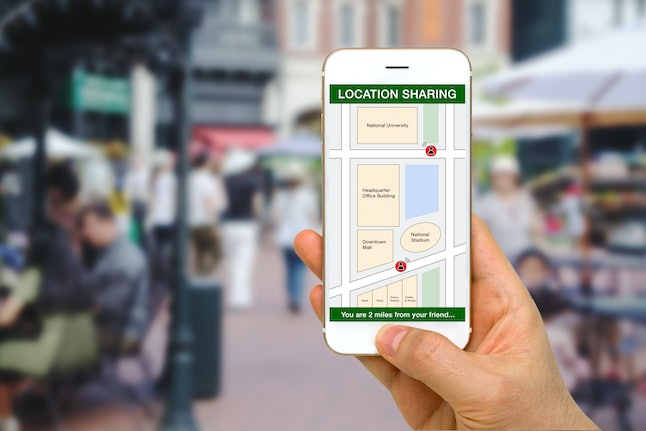 Location sharing can be helpful for safety purposes in relationships.