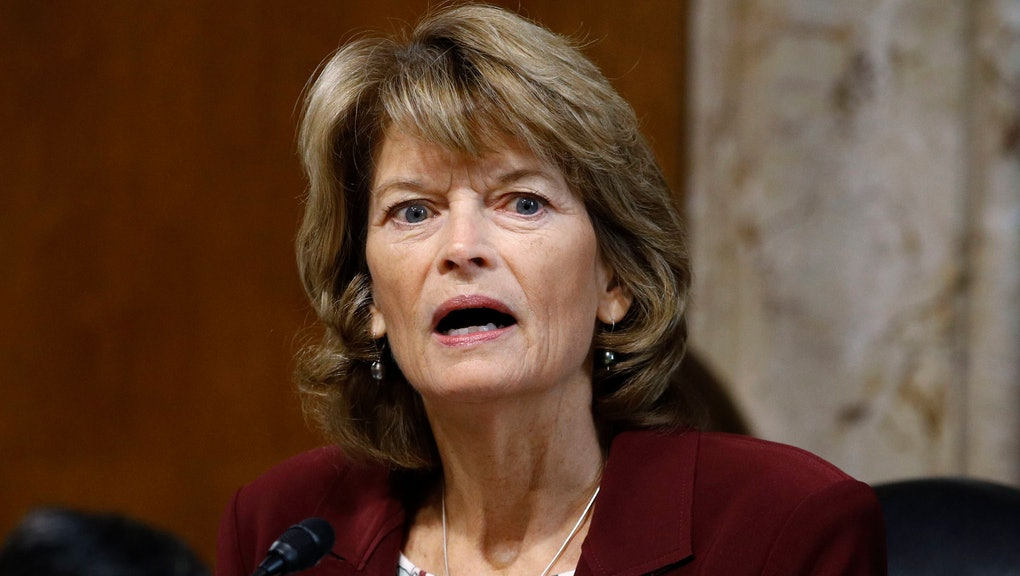 """Sen. Lisa Murkowski, R-Alaska, chair of the Senate Energy and Natural Resources Committee, speaks during a hearing on the impact of wildfires on electric grid reliability on Capitol Hill in Washington. Murkowski says she was """"disturbed"""" to hear Senate Majority Leader Mitch McConnell say there would be """"total coordination"""" between the White House and the Senate over the presidential impeachment trial. In an interview with KTUU, Murkowski said she remains undecided on how she would vote when the trial takes place. She was critical of the impeachment process in the House, describing it as rushed. But she said there should be distance between the Trump administration and the Senate on how the trial is conducted"""