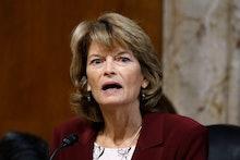 Sen. Lisa Murkowski, R-Alaska, chair of the Senate Energy and Natural Resources Committee, speaks du...