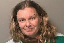 Esta foto sin fecha proveída por la cárcel del condado Polk, Iowa, muestra a Nicole Marie Poole Fran...