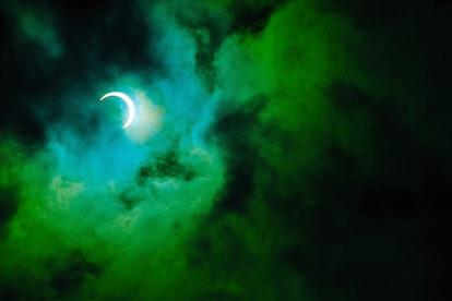 Partial annular solar eclipse, in Malaysia.